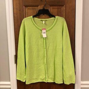 NWT Sigrid Olsen sweater—size 1X